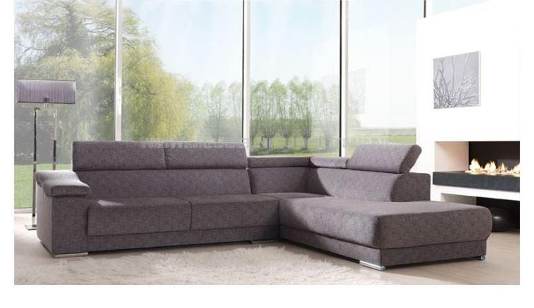 Hoekbank achter het klooste meubel nieuwe stijl