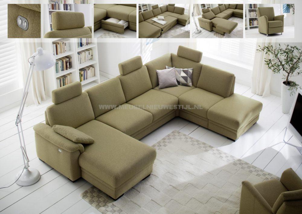 Hoekbank afferden meubel nieuwe stijl