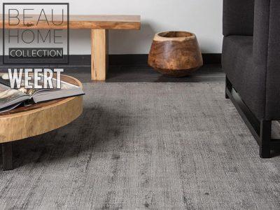 Karpet grijs laagpolig