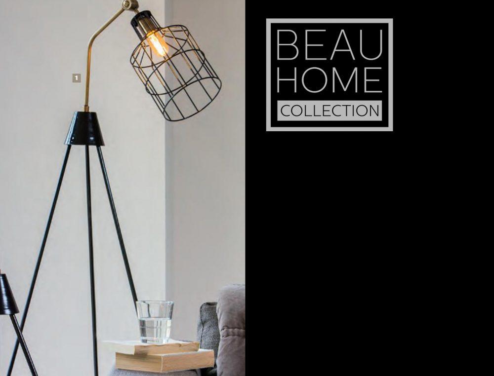 Lamp 3 voets zwart metaal met kooi kap industrieële stijl
