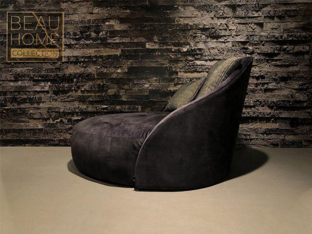 Voor-aanzicht-antriciet-lounge-fauteuil